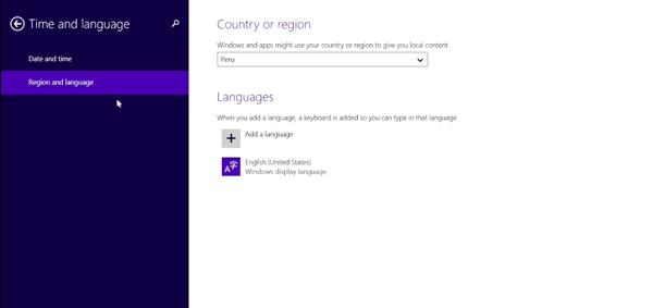 Как установить (поставить) русский язык на windows 8 ?